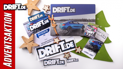DRIFT.de Adventsaktion - Edle Geschenkbox gratis!