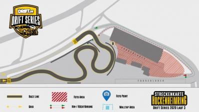 DRIFT.de Drift Series Finale 2020 - Streckenverlauf steht fest