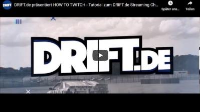 Finale der DRIFT.de Drift Series 2020 im kostenfreien Livestream auf Twitch