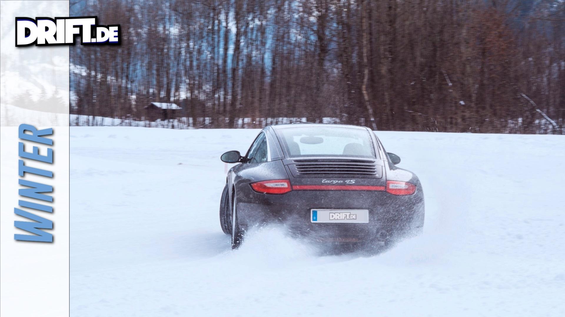 Driften im Winter Wonderland