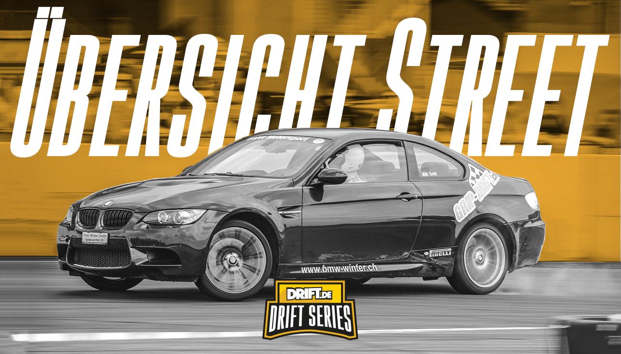 Drift Series | Saison 2018 | Ergebnisse | Street-Klasse | Übersicht