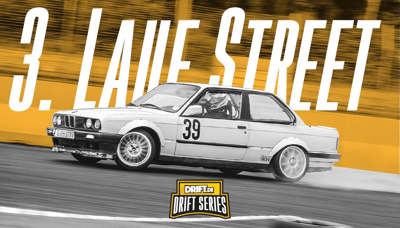 Drift Series | Saison 2018 | Ergebnisse | Street-Klasse | 3. Wertungslauf