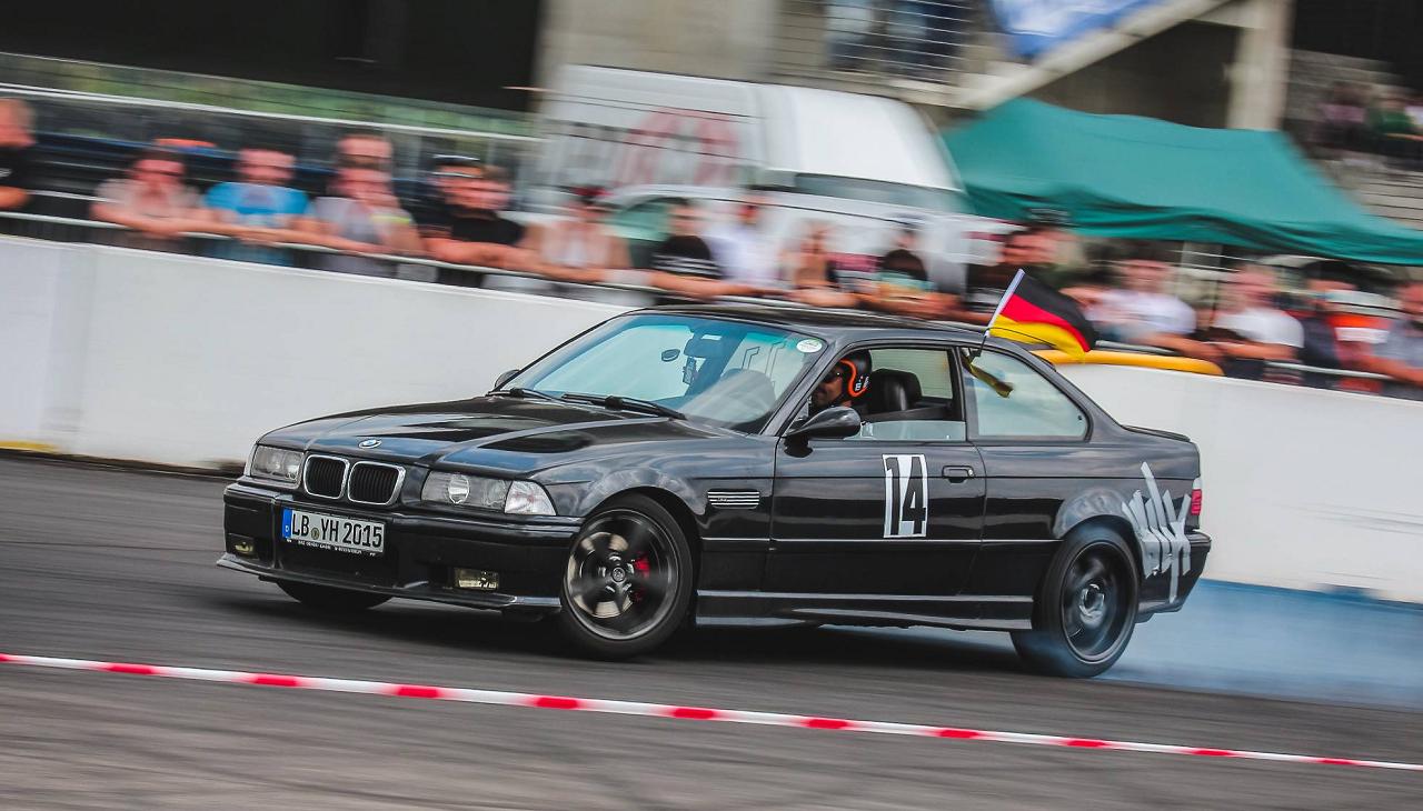 Drift Series   Saison 2018   Fahrer und Teams   BMW E36 M3