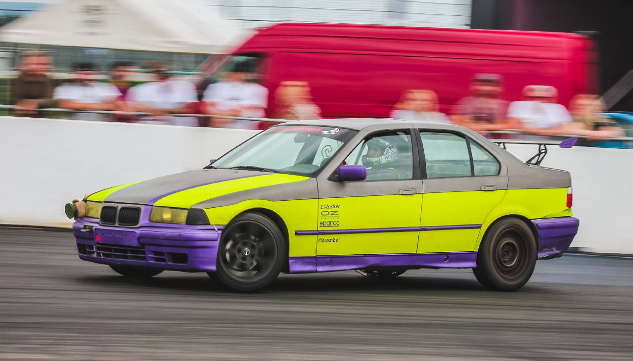Drift Series   Saison 2018   Fahrer und Teams   BMW E36 325i