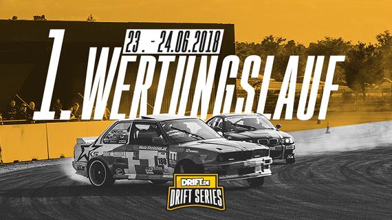 Drift Series | Saison 2018 | Termine und Zeitpläne | 1. Wertungslauf