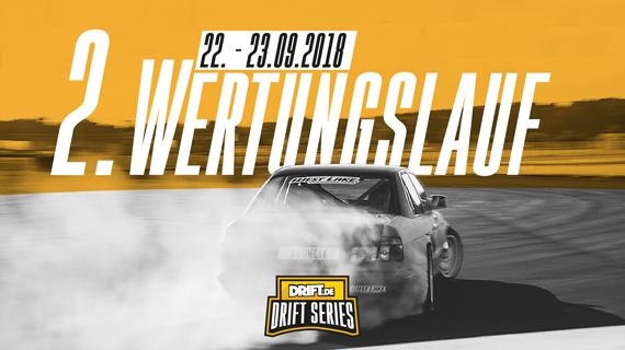 Drift Series | Saison 2018 | Termine und Zeitpläne | 2. Wertungslauf