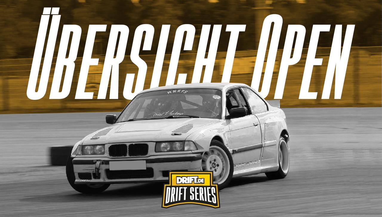 Drift Series | Saison 2019 | Ergebnisse | Open-Klasse | Übersicht