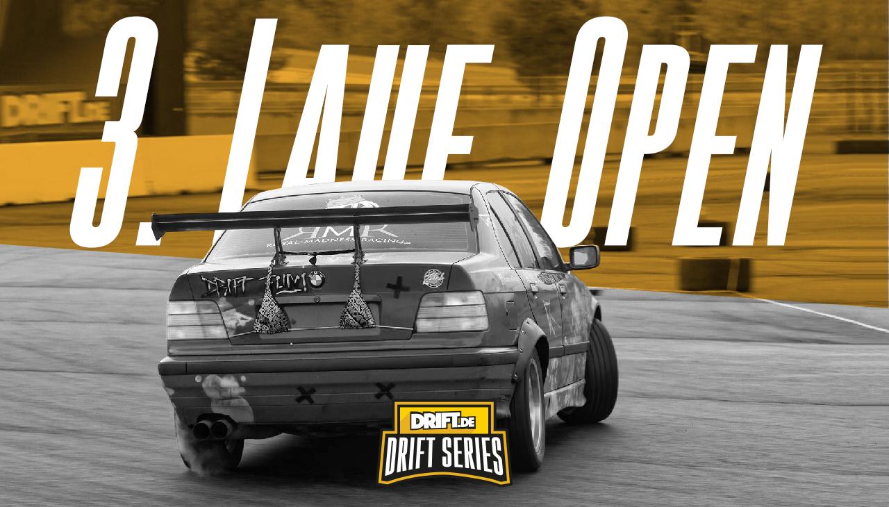 Drift Series | Saison 2019 | Ergebnisse | Open-Klasse | 3. Wertungslauf