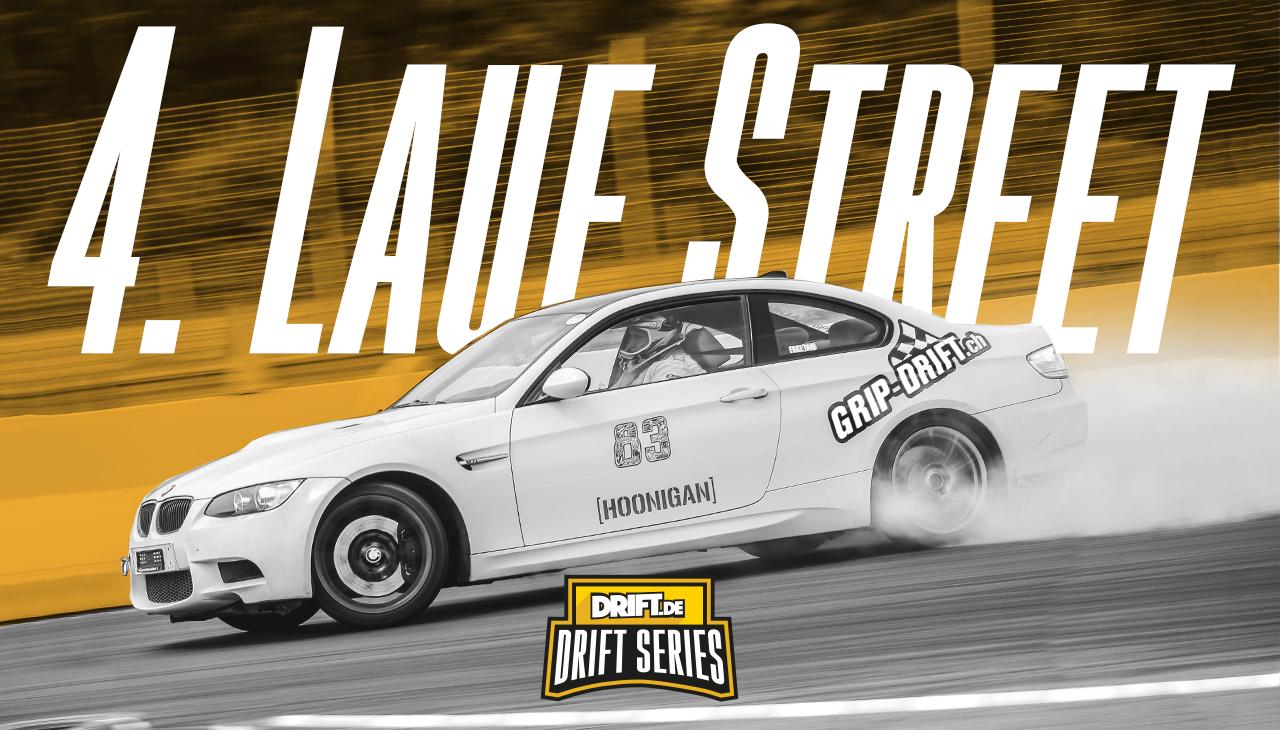 Drift Series | Saison 2019 | Ergebnisse | Street-Klasse | 4. Wertungslauf