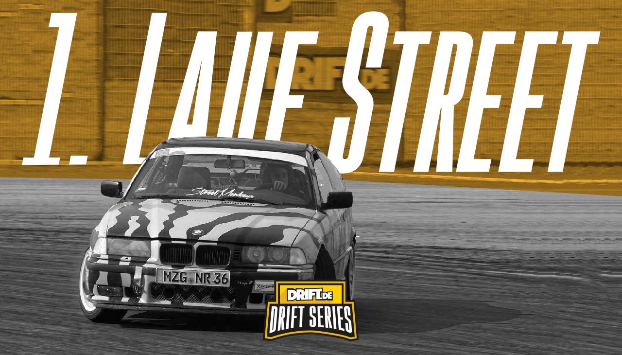 Drift Series | Saison 2019 | Ergebnisse | Street-Klasse | 1. Wertungslauf