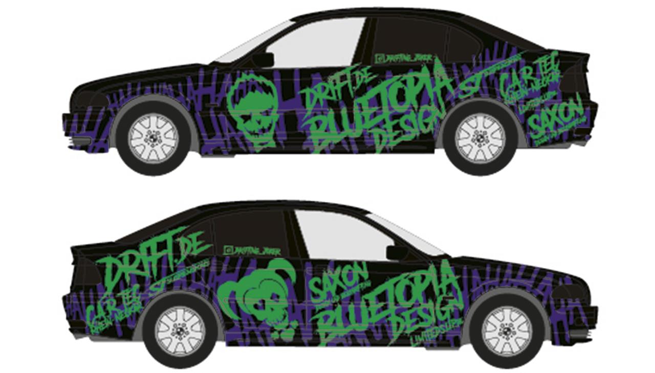 Drift Series | Saison 2019 | Fahrer und Teams | BMW E46 328i Joker Edition