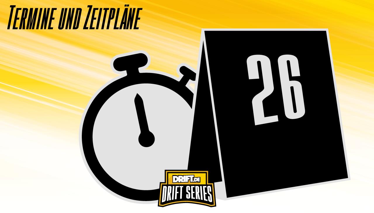 Drift Series | Saison 2020 | Termine und Zeitpläne