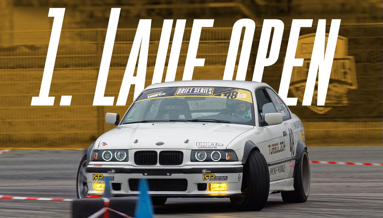Drift Series | Saison 2020 | Ergebnisse | Open-Klasse | 1. Wertungslauf
