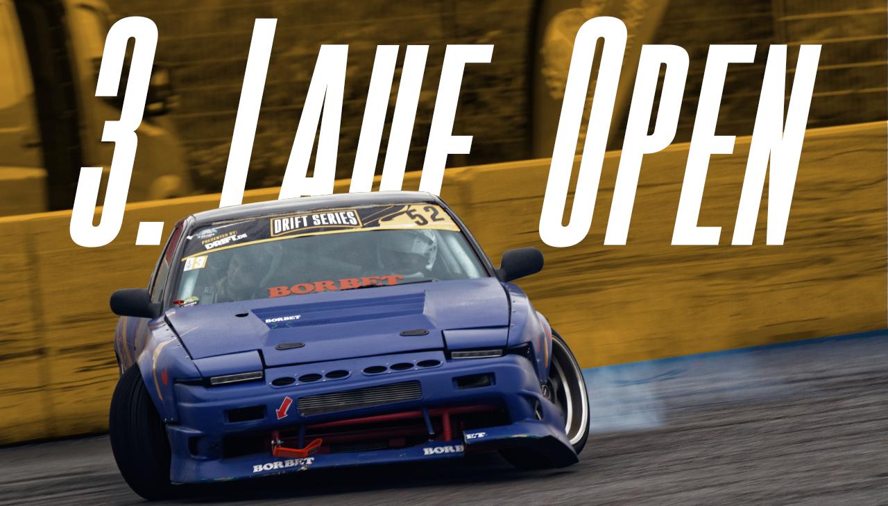 Drift Series | Saison 2020 | Ergebnisse | Open-Klasse | 3. Wertungslauf
