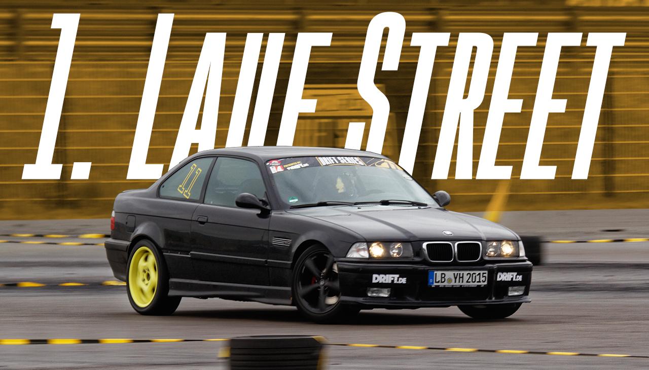 Drift Series | Saison 2020 | Ergebnisse | Street-Klasse | 1. Wertungslauf