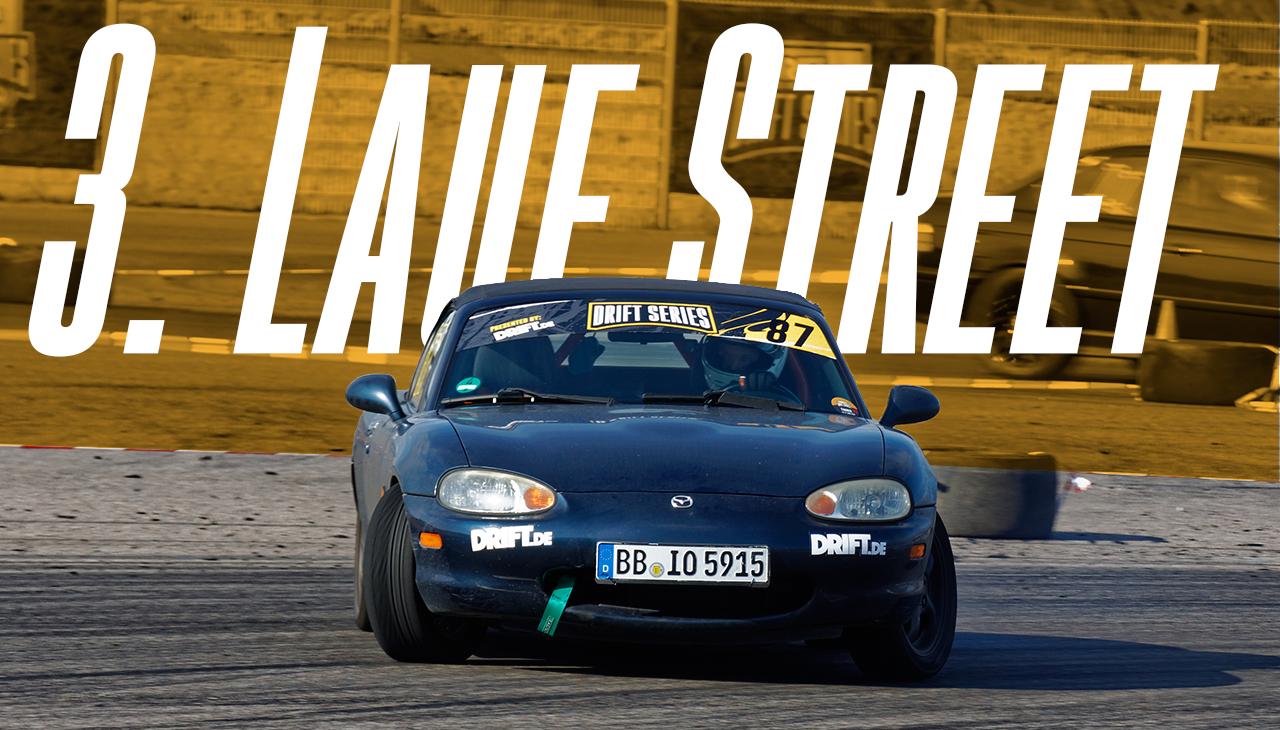 Drift Series | Saison 2020 | Ergebnisse | Street-Klasse | 3. Wertungslauf