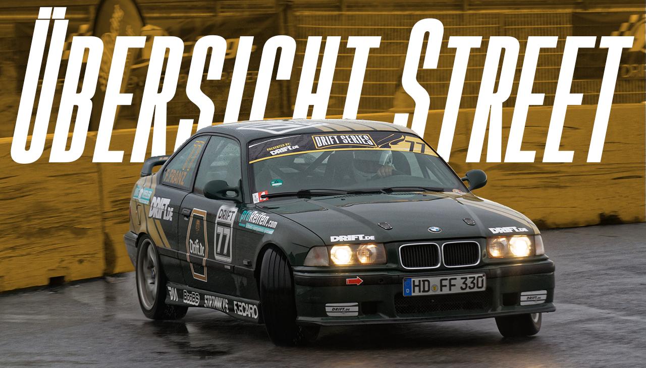 Drift Series | Saison 2020 | Ergebnisse | Street-Klasse | Übersicht