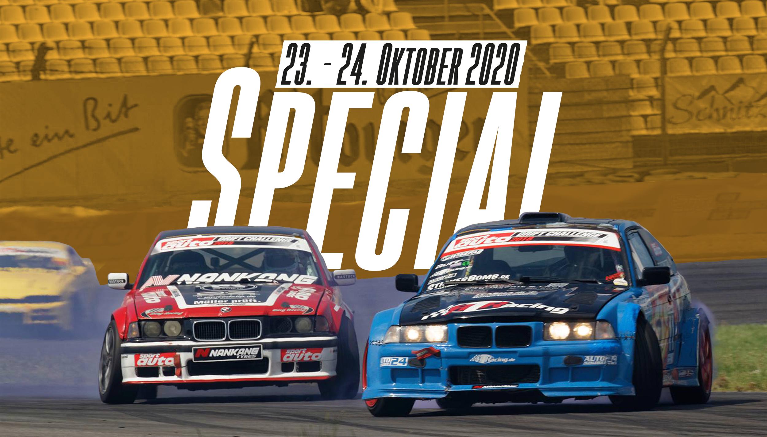 Drift Series | Saison 2020 | Termine und Zeitpläne | Special