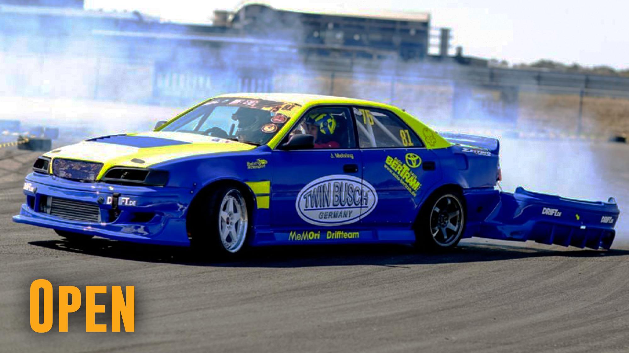 Drift Series 2021 - Fahrer und Teams - Open-Klasse