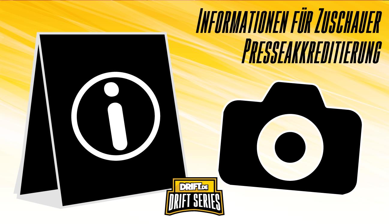 Drift Series 2021 - Wertungslauf 2 - Informationen
