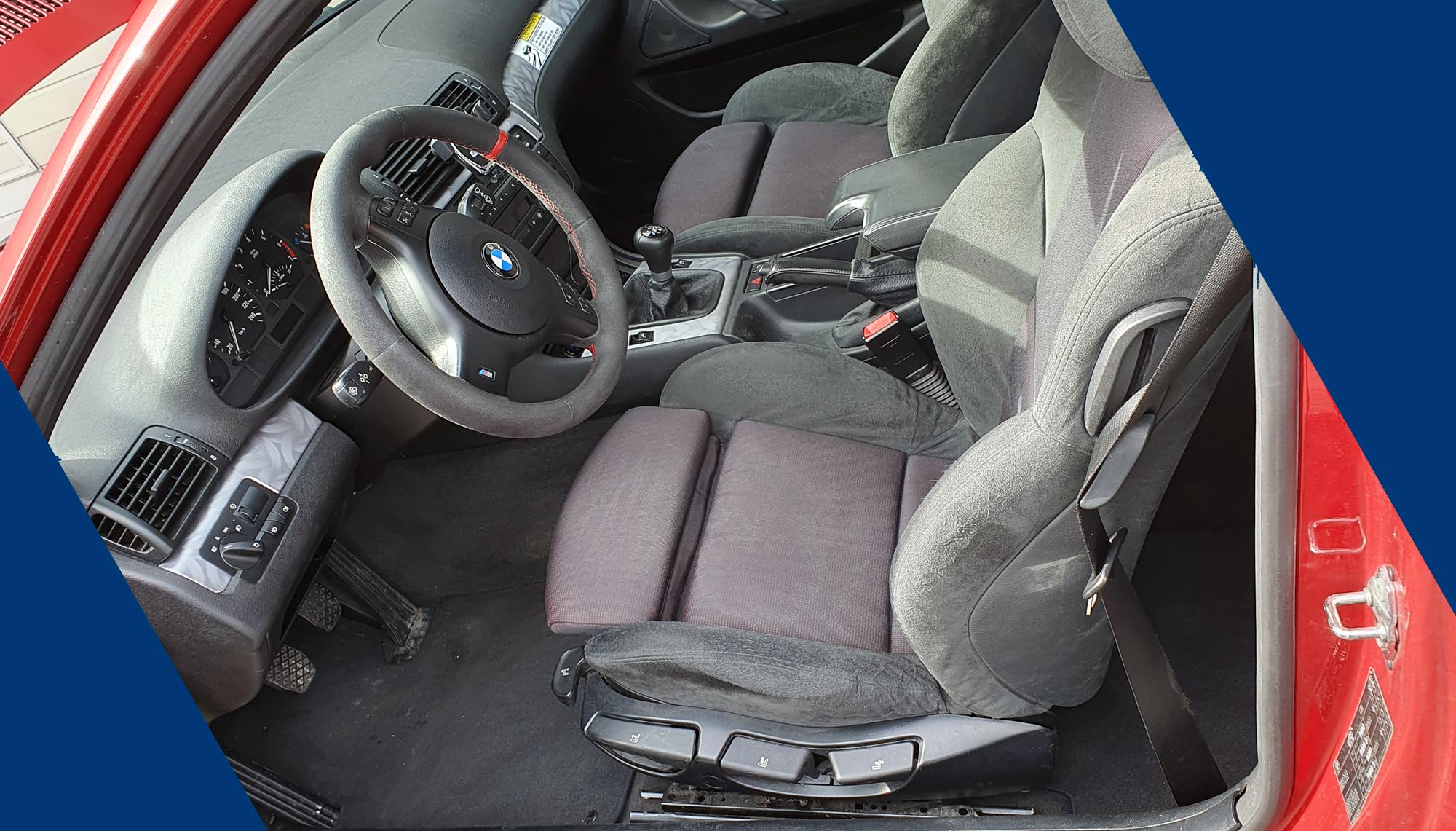 Information | Leihfahrzeuge | BMW E46 Compact | Innenraum